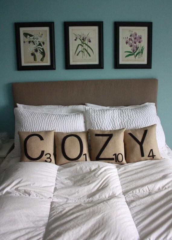 Letter Pillows - COZY