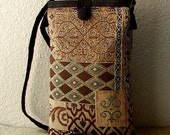 The Barcelona Bag - Tapestry in Chocolate