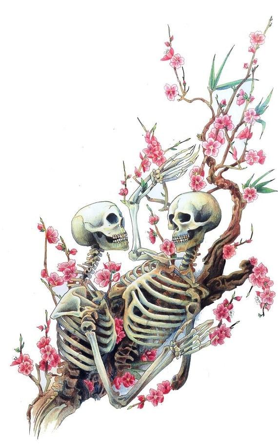 Feel My Bones, Skeleton Print