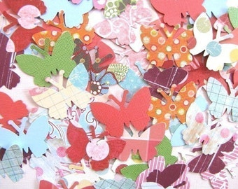 160 Brilliant Butterfly Punchies, die cut shapes, great for cards, scrapbooking, papercrafts