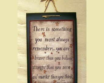 There is something you most always remember from Winnie the Pooh painted by Laurie Sherrell NEW LOWER PRICE!