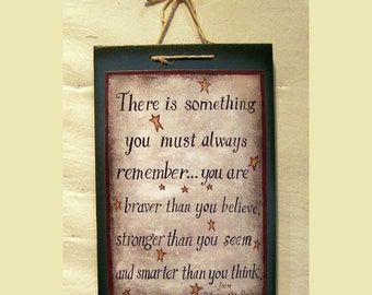 There is something you most always remember from Winnie the Pooh painted by Laurie Sherrell
