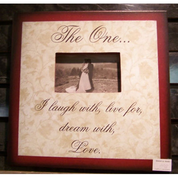 The one I laugh with live for dream with love   picture frame by laurie sherrell