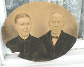1800s photo hand colored portrait  photo antique