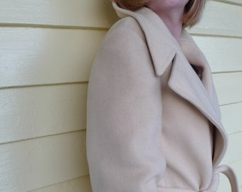 moviestar coat vintage cashmere tailored by Lorendale 1950s