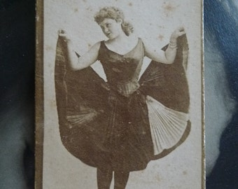 antique photo card Navy tobacco picture card actress 1900s