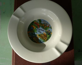 vintage virginia souvenir ashtray 1960s