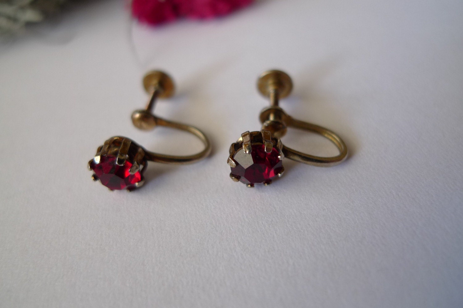 Vintage Screwback Earrings 85