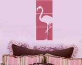 Flamingo Panel Squares Vinyl Wall Art Graphics Decals Stickers 1229