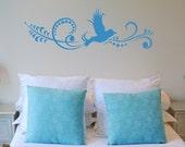 Flying Bird Art Vinyl Wall Art Graphics Decals Stickers 1365