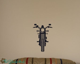 Motorcycle Vinyl Wall Art - Vinyl Lettering - Home Decor - Wall Graphic - Decals Stickers 908