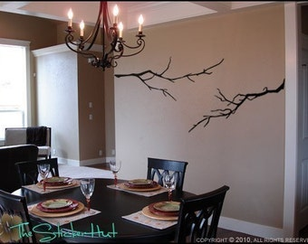 Bare Branches in Winter - Vinyl Lettering - Wall Decals - Vinyl Wall Art Graphics Decals Stickers - Home Decor Lettering Decals 767