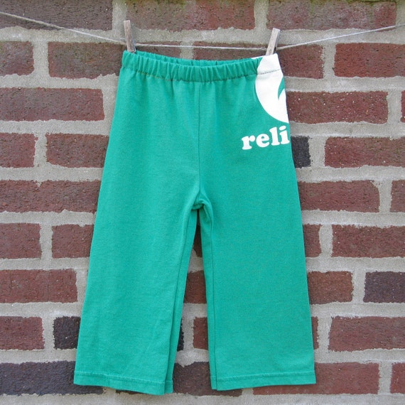 relient k upcycled / recycled shorTEEs kung-fu pants 2t