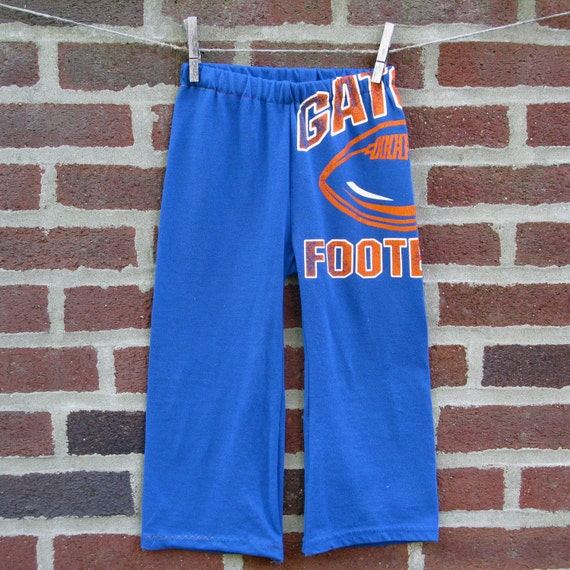 florida gators upcycled / recycled shorTEEs kung-fu pants 3t