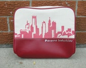 Red Skyline Toiletry Bag