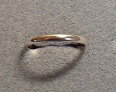 Sterling Silver Plain Band. Size 6 Free Shipping in the USA  Close Out