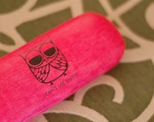 I CAN'T SEE SHIT eye glasses case - pink