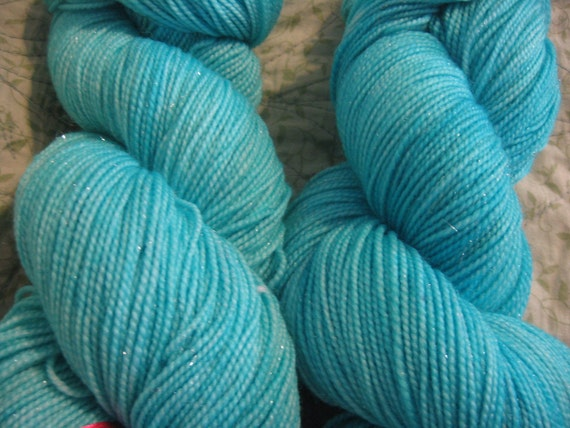 Silver Lining - Huggybear Knits Hollywood -- Fingering Weight