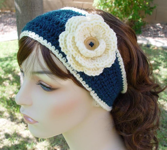 PDF Crochet Pattern - The Portland Headwrap