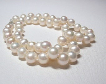 8mm Cultured Freshwater Pearl Necklace