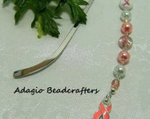 Pink Ribbon Bookmark Two