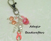 Purse Charm for Breast Cancer