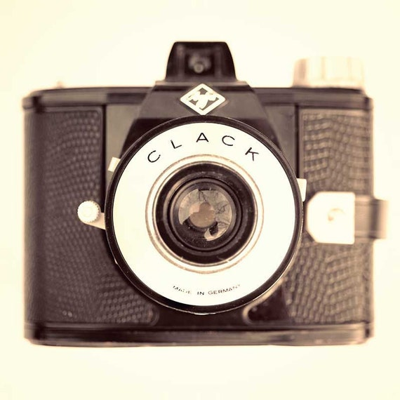 Camera art, modern decor, camera photography, vintage camera, for photographers, Mad Men, collectors, metro, home decor, geekery - 8x8