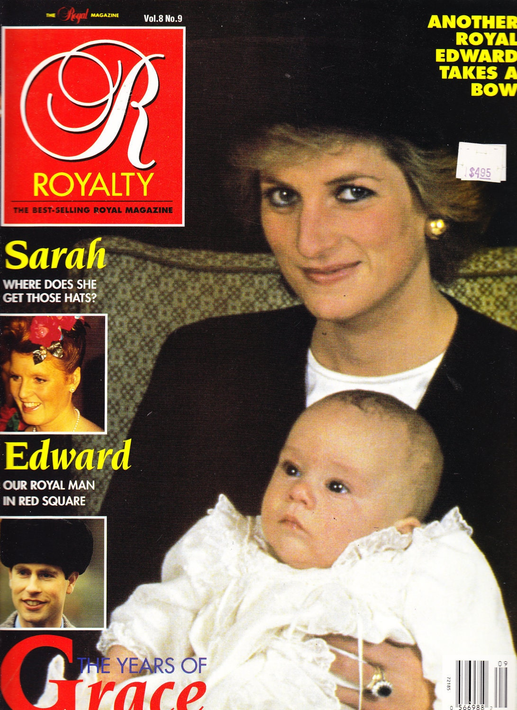 Royalty Magazine June 1989 Princess Diana Cover