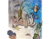 the octopus 8x10 limited edition print