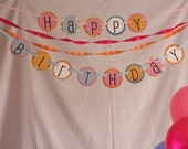 Birthday Banner from THE POLKADOT COLLECTION for GIRLS