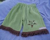 vintage chenille pants size 3