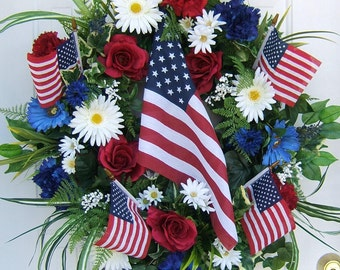 Custom Order , 4th of July wreath, Patriotic wreath, Labor Day wreath, Army, Navy, Marines, Air Force, USA, Military