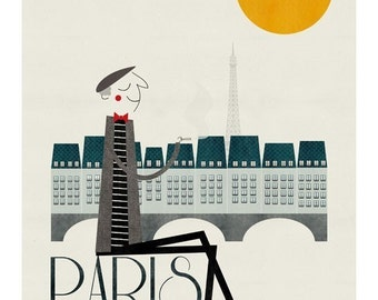 Paris big print
