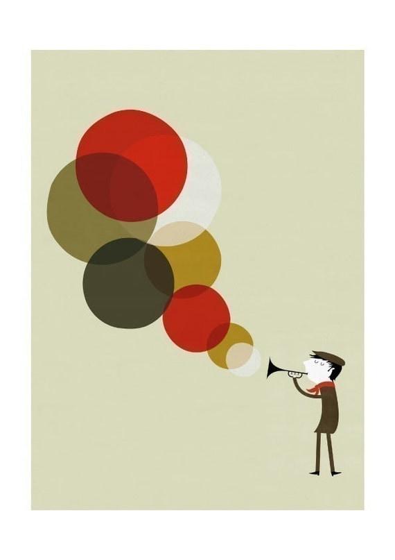 Jazzman print