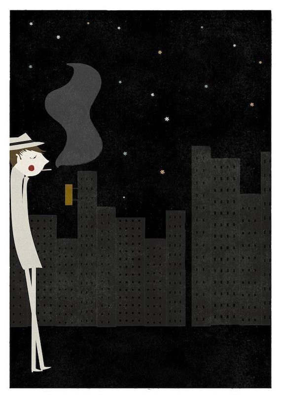 Night print