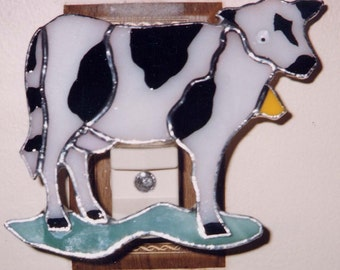 Farm Animal NLs - Pig-Lamb-Cow-Goose Nightlights - Stained Glass Night lights - All Made By Order