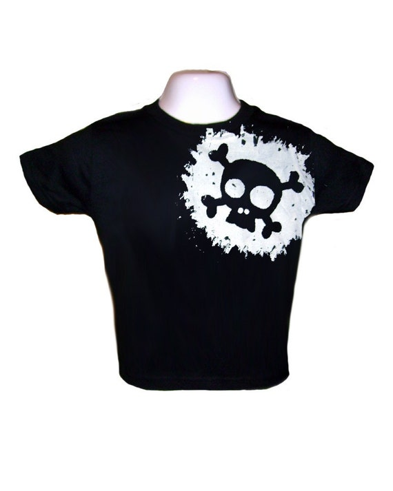 Skull Splat Toddler Tshirt