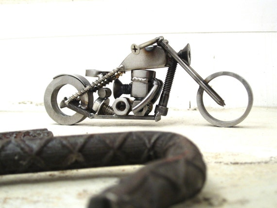 Yamaha XS650 Chopper Sculpture for Charity