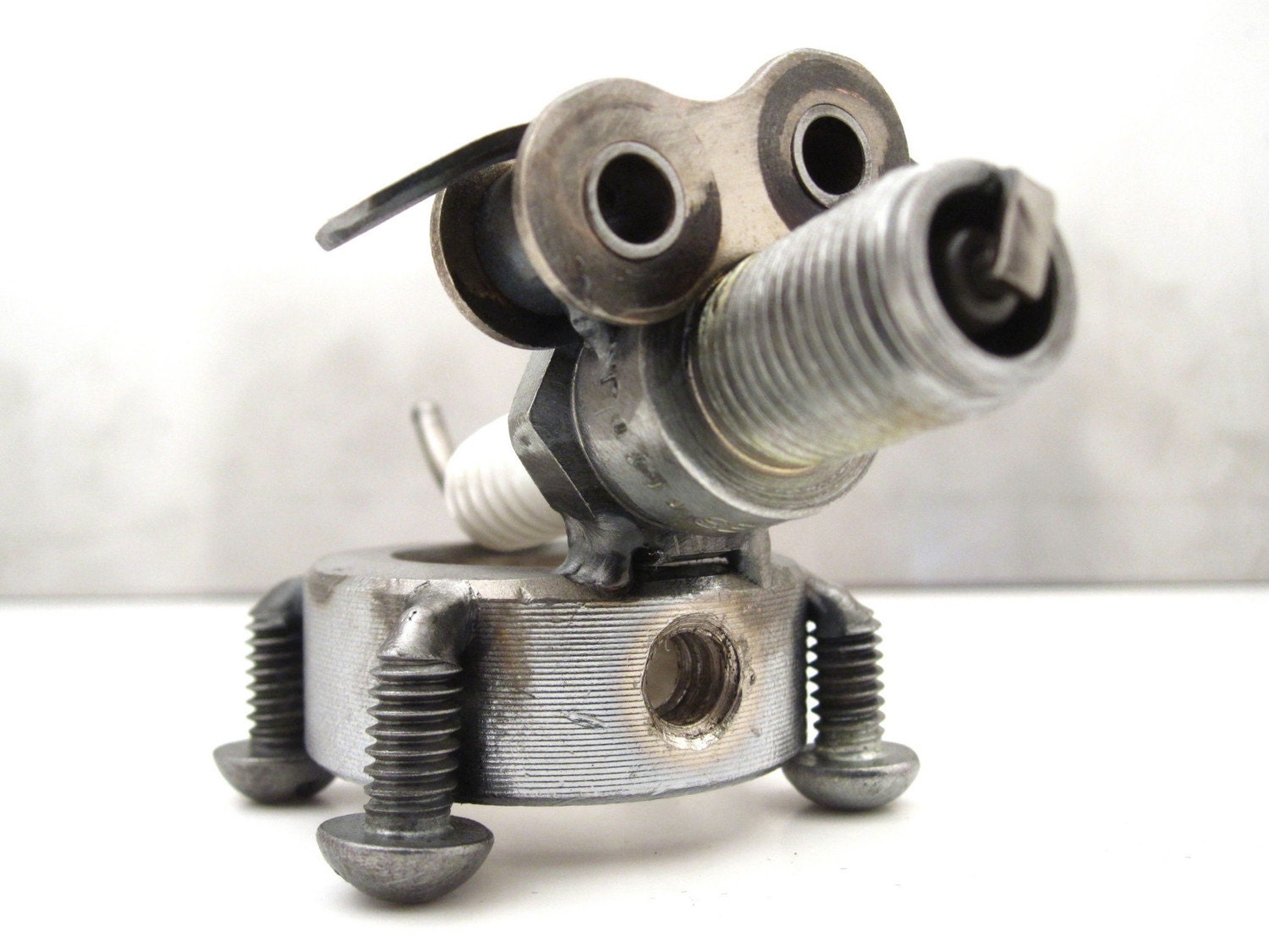 Tubs the scrap metal puppy - Simple metal art projects ...
