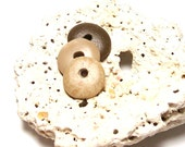 """Genuine Drilled Beach Stones Cairn Set - Caramel Toffee Mix Pebbles - Jewelry Beads - """"Hot Cocoa"""" by StoneMe"""
