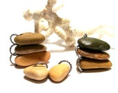 """Beach Pebbles Stones for Jewelry Making Beads - Genuine Drilled River Rocks - """"Rock Candy"""" by StoneMe"""