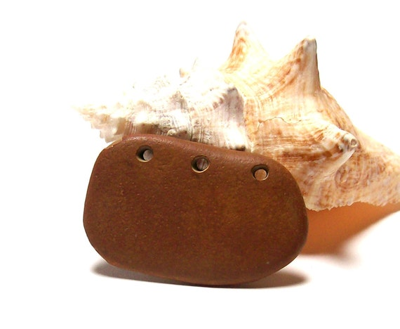 """Beach Stones - Pebbles Jewelry diy Beads - River Rocks - Michigan Finds - """"Sand Bar"""" by StoneMe"""
