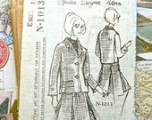 Women's Suit with Inverted Pleat Skirt, Vintage 1960's - Ray Agayhan for Doris Day - Spadea 1013