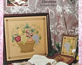 "Counted Cross Stitch ""Colonial Fruit Theorem"" Chart Book by Angela Pullen for Just Cross Stitch"