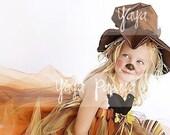 Lil' Scarecrow Halloween Costume Set