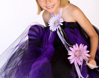 Rockin' Princess Halter Tutu Dress, Tiara and Wand