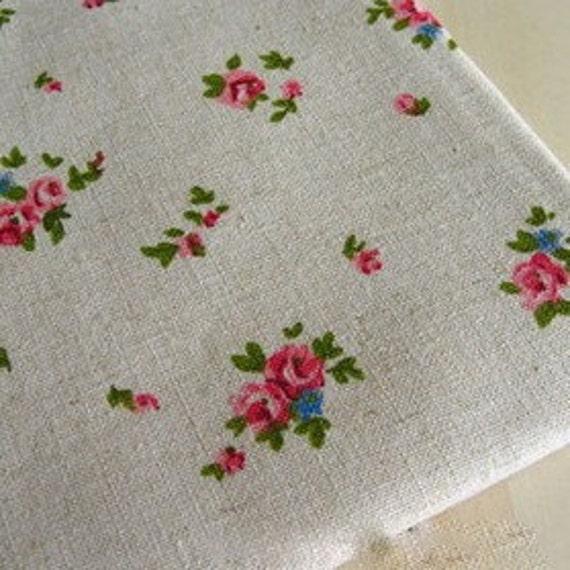 Floral Japanese Cotton Linen