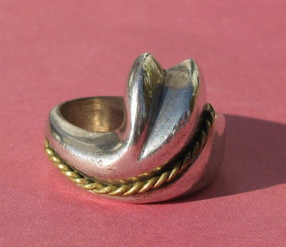 vintage taxco sterling silver ring