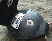 Leather KEY CHAIN / Guitar pick holder (GM015)
