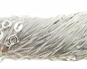 20 inch Sterling Silver Box Chain (AO016)